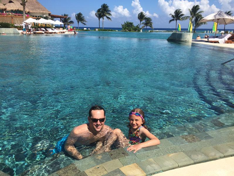 Riviera Maya pool