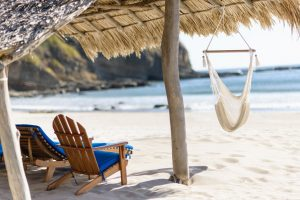Nicaragua beach hammock